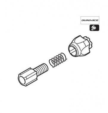 Shimano RD-6600 cable adjustable unit Y5VG98040