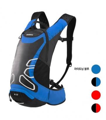 Shimano Rokko R12 Cycling Backpack 12L Lightning Blue