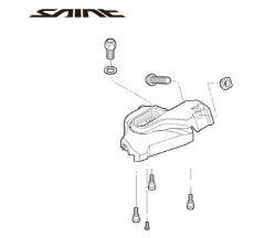 Shimano Saint SM-SL82-B I-spec Bracket Right Part