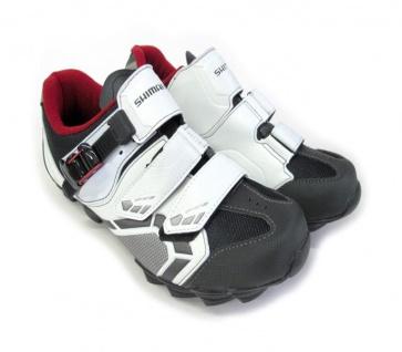 Shimano SH-M088WE WideFit MTB Cycling Shoes White