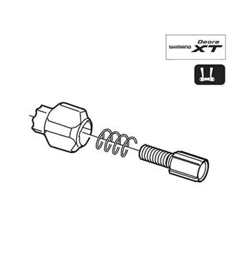 Shimano SL-M770 Shifter Cable Adjustment Bolt left Y6MP98070