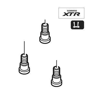 Shimano SL-M970 Fixing Bolt 3pcs Y6M398030