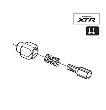 Shimano SL-M970 Shifter Cable Adjuster Bolt Y6M398050