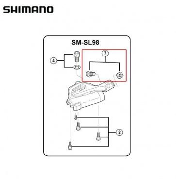 Shimano SL-M980 Shilfter Cover Bolt M5x12.5 Y6T798060