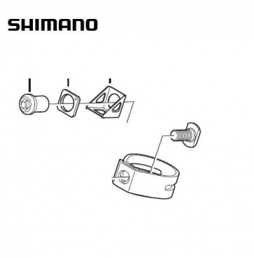 Shimano ST-7900 Clamp Band Unit Y6RT98130