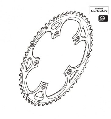 Shimano Ultegra FC-6600 53T Chainring Y1G398040