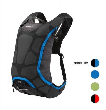 Shimano Unzen U15 Hydration Backpack 15Litre Ash Black BLue