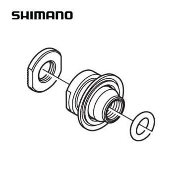 Shimano WH-RS10-F Lock Nut Unit Y4DV98020