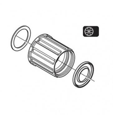 Shimano WH-RS10-R Complete Freewheel Body Y4DV98110