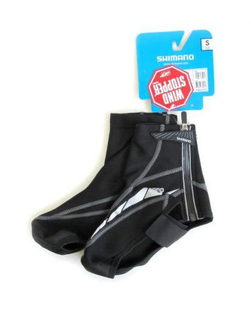 Shimano windstopper shoes cover black