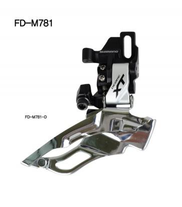 Shimano XT FD-M781-D 10SP front derailleur direct mount 42t