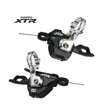 Shimano XTR SL-M980-A Shifter Lever Set Double Triple