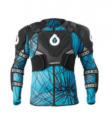 Sixsixone Evo Pressure Suit BLACK CYAN