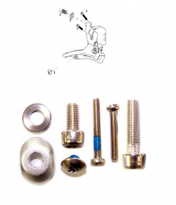 Sram Front Derailleur Bolt Screw Kit Apex Rival Force Brazed On