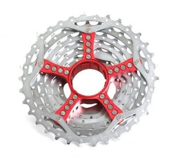 Sram PG-990 Sprocket Cassette Red 11-34T