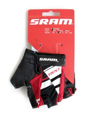 Sram Red Cycling Gloves Half Fingers 2colors