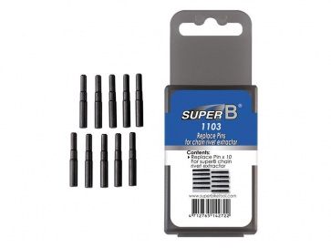 SuperB TB-1103 replace pins set for chain rivet extractor