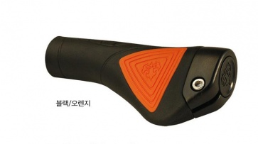 T-one commander cycling lock on grips gp04 black orange
