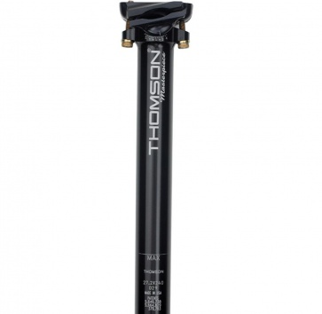 Thomson Masterpiece 27.2x330mm Seatpost Black