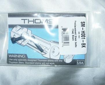 Thomson Stem Bolts 2 colors SM-H001-Bk