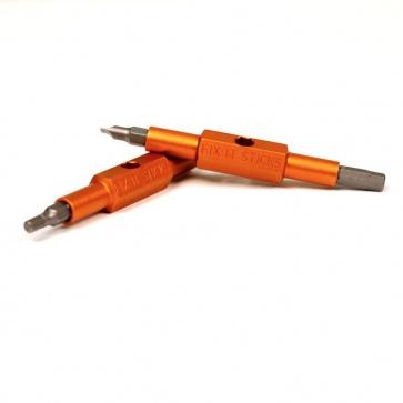 FIX IT STICKS STANDARD A (4,5,6mm HEX, FLAT HEAD) ALUMINUM