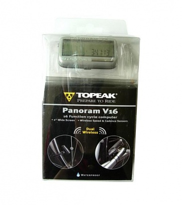 Topeak Panoram V16 Dual Wireless Cycling Computer