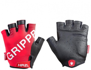Hirzl Grip Tour2 Half Fingers Gloves Red