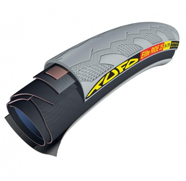 700x23 TUFO ELITE RIDE 23 TUBULAR GREY