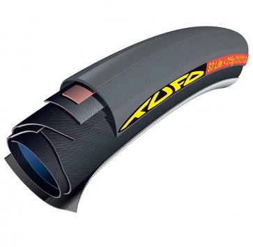 650Cx21 TUFO S3 LITE <200 TUBULAR BLACK