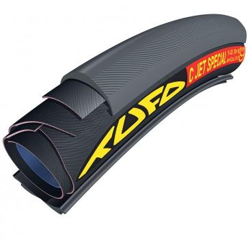 700x19 TUFO C JET SPECIAL TUBULAR-CLINCHER BLACK