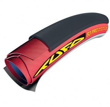 700x21 TUFO S3 PRO TUBULAR BLACK/RED