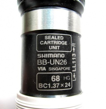 Shimano 68xLL113 Bottom Bracket BB-UN26