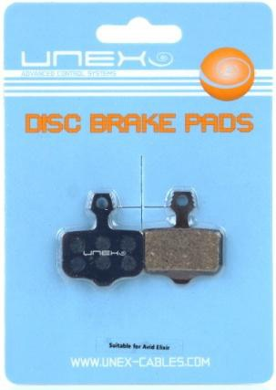Unex Avid Elixer DIsc Brake Pad Organic