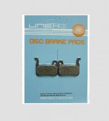 Unex Shimano XTR XT LX Organic Disc Brake Pad