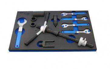 Unior bike tool set in SOS tool tray 1600SOS1
