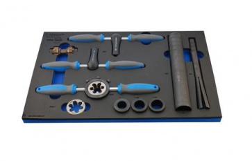 Unior bike tool set in SOS tool tray 1600SOS3