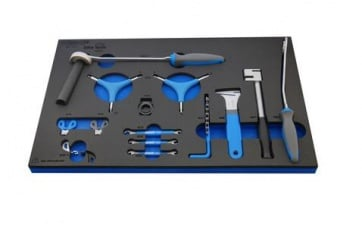 Unior bike tool set in SOS tool tray 1600SOS6