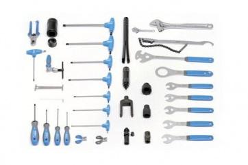 Unior set of bike tool 37 pcs 1600E bicycle mechanic