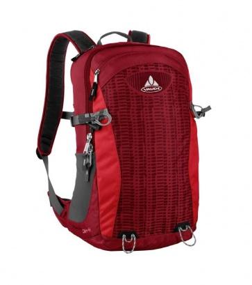 Vaude Wizard Air 24+4L backpack bag dark red
