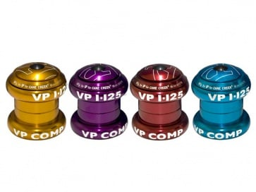 "VP components VP-A69ac bicycle headset 1 1/8"" anodized"