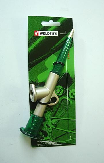 Weldtite Bicycle Bike Grease Insert Gun