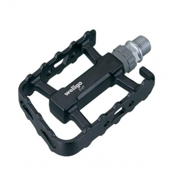 Wellgo LU-C17 Road Bike Flat Pedals 2colors