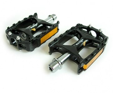 Wellgo M138R grease insert flat pedals