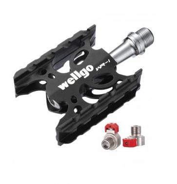 Wellgo WR-1 QRD road bike pedals
