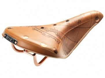 Brooks B17 Select Saddle World Traveller 2012 Limited Edition