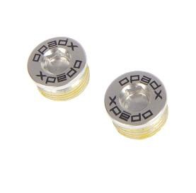 Xpedo XMF08 Pedal Endcap Silver