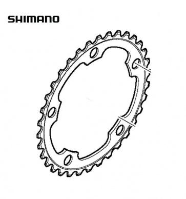 Shimano FC-5750 34T Road Bike Compact Chainring Black