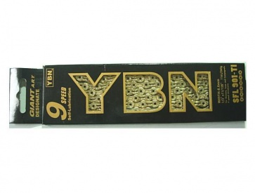 YBN SFL901-Ti Bicycle Chain Gold Long Life 9SP