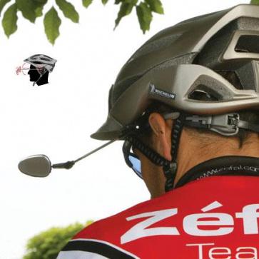 Zefal Z eye bicycle cycling helmet mirror adjustable