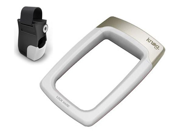 knog strongman cycling bicycle u lock security white. Black Bedroom Furniture Sets. Home Design Ideas
